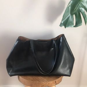 BANANA REPUBLIC Larkin Leather Tote